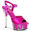 DELIGHT-609-5G Hot Pink Glitter